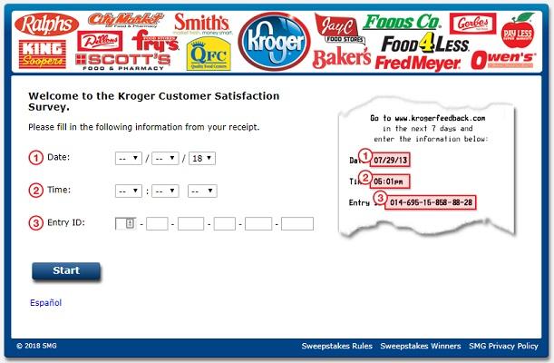 krogerfeedback com survey